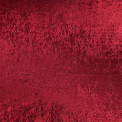Crushed velvet deep red