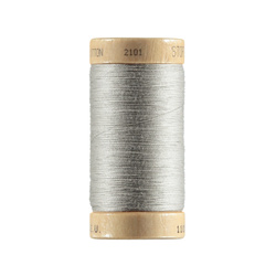 Sewingthread orgarnic cotton ltgrey 100m