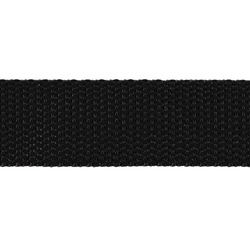 Webbing ribbon nylon 25mm black 5m