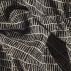 Jacquard nature/black stripe pattern
