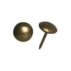Polstersøm 11mm bronze 30stk