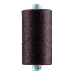 Sewing thread aubergine 1000m