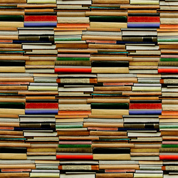 Halfpanama multicolour stack of books