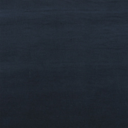 Stretch velvet cotton navy