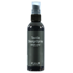 Tekstilmaling Spray grå 100ml