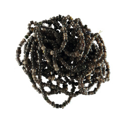 Beads glass 2-3mm black mix app. 1000pcs