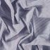 Cotton voile blue with yd stripe