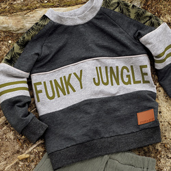 Funky jungle Schablone