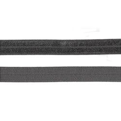 Folding elastic 14mm grey 3m