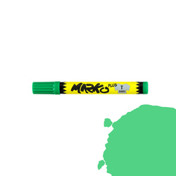 Textile pen permanent 5mm light green