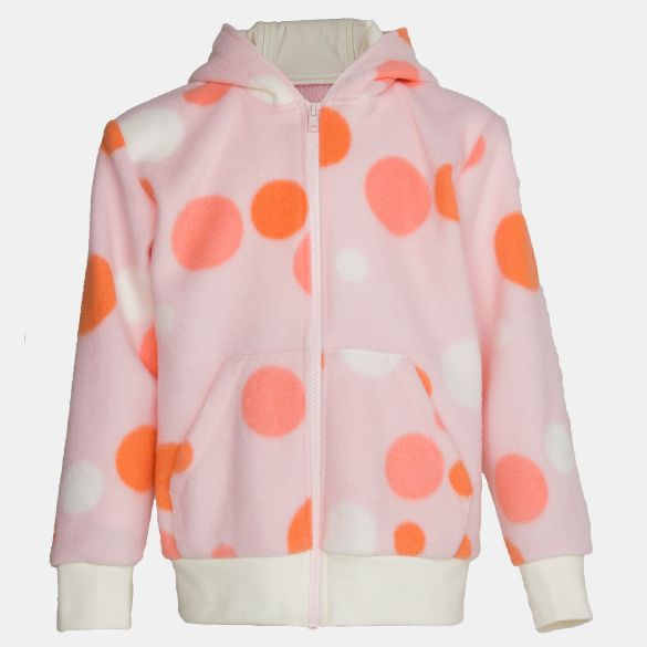 Polar-Fleece-Sweatshirt - pink