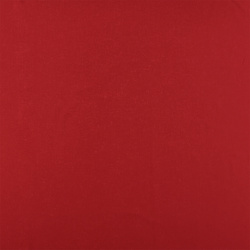 Plain cotton red
