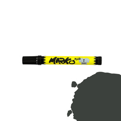 Textile pen permanent 5mm black