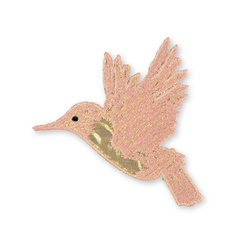 Patch hummingbird 105x95mm 1 pc