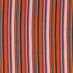 Woven viscose with multicolored stripe