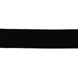 Straight cut tape stretch 20mm black 3m